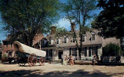 The Raleigh Tavern - Williamsburg, Virginia VA Postcard