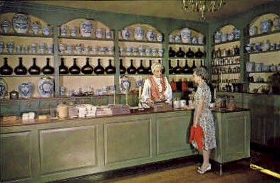 Pasteur-Galt Apothecary Shop - Williamsburg, Virginia VA Postcard