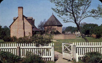 The Powder Magazine - Williamsburg, Virginia VA Postcard
