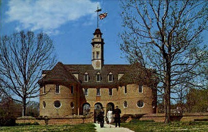 The Capitol - Williamsburg, Virginia VA Postcard