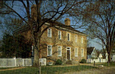 George Wythe House - Williamsburg, Virginia VA Postcard