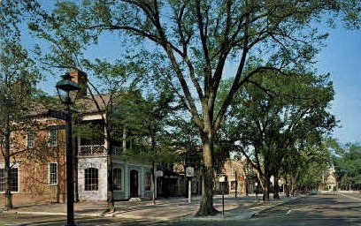 Merchants Square - Williamsburg, Virginia VA Postcard