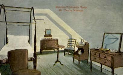 District of Columbia Room - Mt Vernon, Virginia VA Postcard