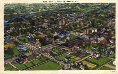 Marion,Virginia, VA, Postcard