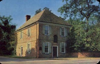 The Custom House - Yorktown, Virginia VA Postcard