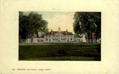 West Side - Mt Vernon, Virginia VA Postcard