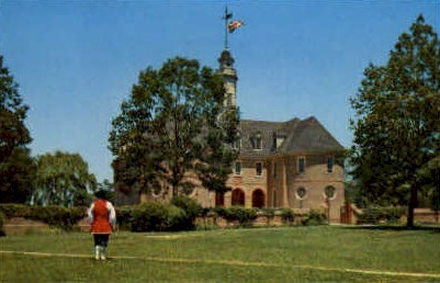 Colonial Capitol - Williamsburg, Virginia VA Postcard