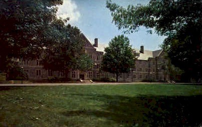 Campbell Hall, Virginia Polytech Institute - Misc Postcard