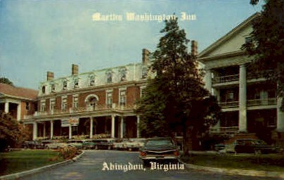 Martha Washington Inn - Abingdon, Virginia VA Postcard