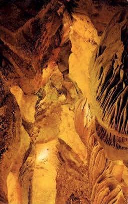 Cathedral Hall, Skyline Caverns - Front Royal, Virginia VA Postcard