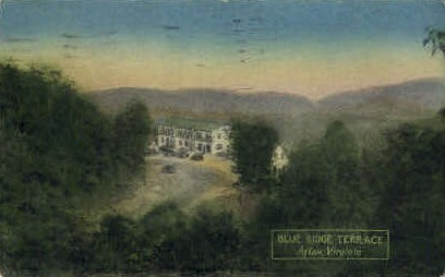 Blue Ridge Terrace Inn - Afton, Virginia VA Postcard