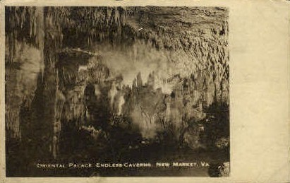 Oriental Palace, Endless Caverns - New Market, Virginia VA Postcard