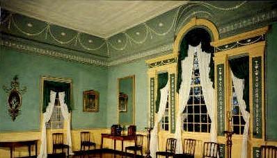Banquet Hall - Mt Vernon, Virginia VA Postcard
