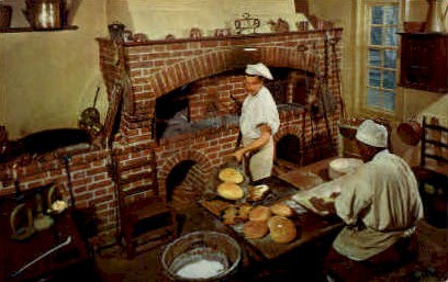 The Raleigh Bake Shop - Williamsburg, Virginia VA Postcard
