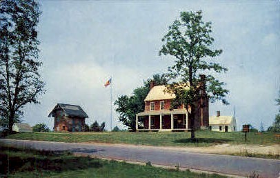 Appomattox Court House,Virginia, VA, Postcard