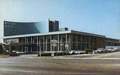 The Executive Motor Hotel - Richmond, Virginia VA Postcard