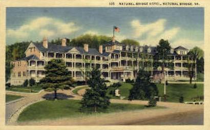 Natural Bridge Hotel - Virginia VA Postcard