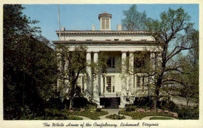 The White House of the Confederacy - Richmond, Virginia VA Postcard