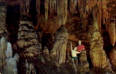Amphitheater, Luray Caverns - Virginia VA Postcard