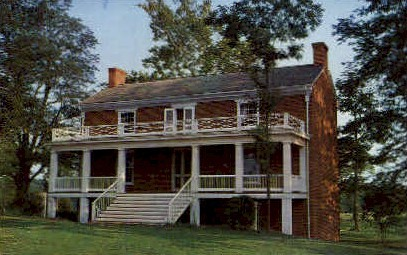 The McLean House - Appomattox Court House, Virginia VA Postcard
