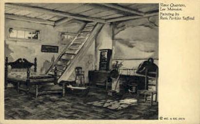 Slave Quarters, Lee Mansion - Misc, Virginia VA Postcard