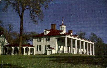 Mt Vernon,Virginia, VA, Postcard