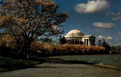 Jefferson Memorial - Misc, Virginia VA Postcard