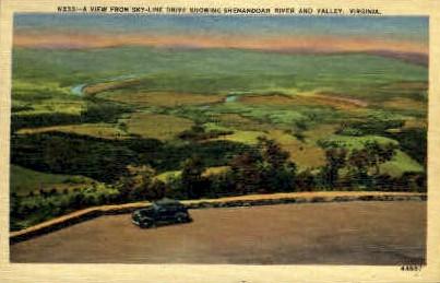 Shenandoah Valley - Misc, Virginia VA Postcard