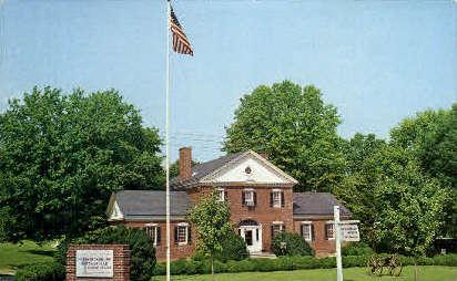 National Park Service Visitor Center - Fredericksburg, Virginia VA Postcard