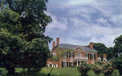 Woodlawn Mansion - Alexandria, Virginia VA Postcard