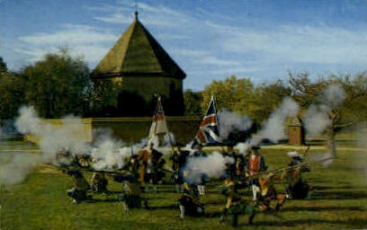 Colonial Williamsburg Militia - Virginia VA Postcard