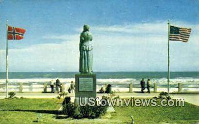 The Norwegian Lady  - Vriginia Beach, Virginia VA Postcard