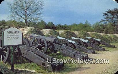 American Battery  - Yorktown, Virginia VA Postcard