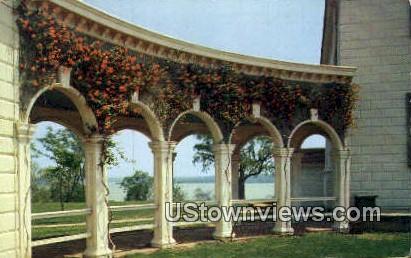 Planting Coral Honeysuckle  - Mount Vernon, Virginia VA Postcard