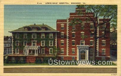 Lewis Gale Hospital  - Roanoke, Virginia VA Postcard