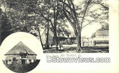 The Barn  - Mount Vernon, Virginia VA Postcard