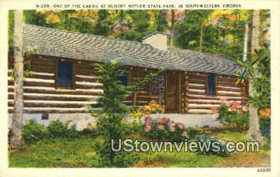 Hungry Mother State Park  - Virginia VA Postcard
