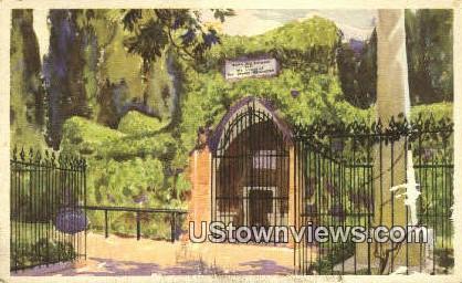 The Tomb Of Washington  - Mount Vernon, Virginia VA Postcard
