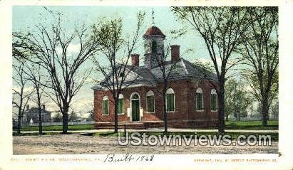 Court House  - Williamsburg, Virginia VA Postcard