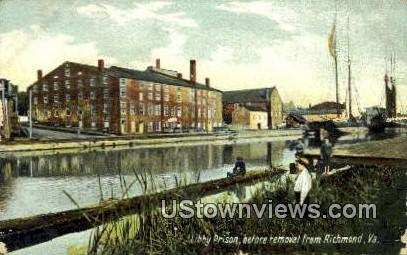 Libby Prison Before Removal  - Richmond, Virginia VA Postcard