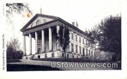 Old Capitol Building  - Richmond, Virginia VA Postcard