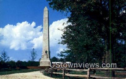 Jamestown Monument  - Virginia VA Postcard