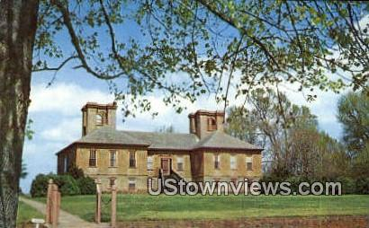 Stratford Hall  - Montross, Virginia VA Postcard