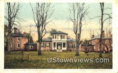 Brandon On The James Rives  - James River, Virginia VA Postcard