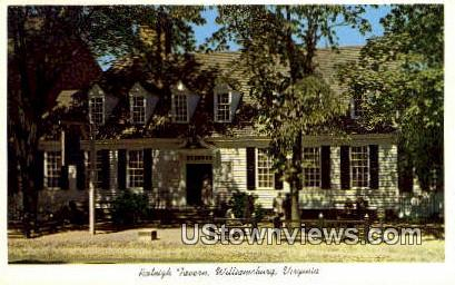 Raleigh Tavern  - Williamsburg, Virginia VA Postcard