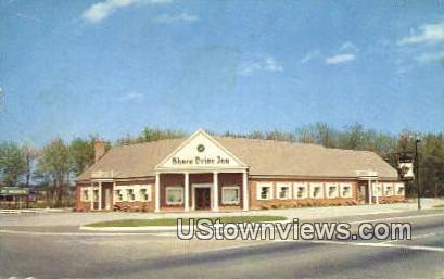 Shore Drive In  - Bayside, Virginia VA Postcard