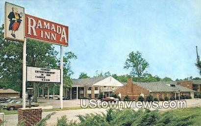 Ramada Inn  - Williamsburg, Virginia VA Postcard