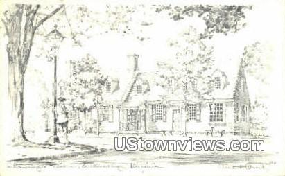 Tavern  - Williamsburg, Virginia VA Postcard