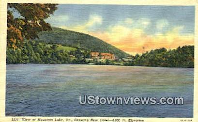 Mountain Lake, Virginia, VA, Postcard