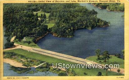 Lake And Mariners Museum  - Newport News, Virginia VA Postcard